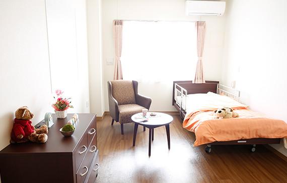 夢別邸すみれが丘(サービス付き高齢者向け住宅)の画像(2)居室1
