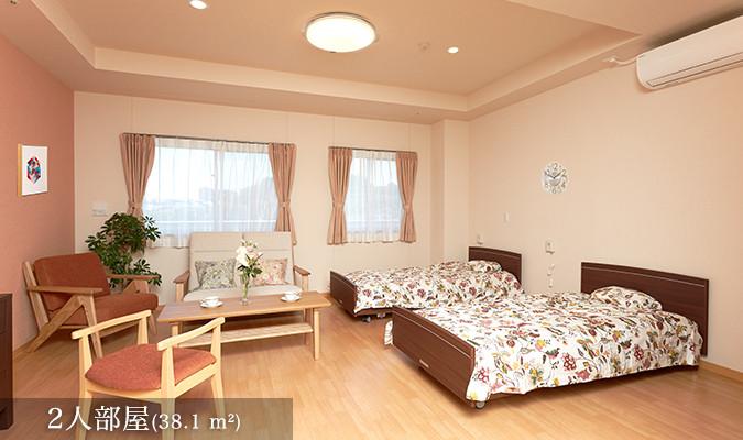 夢別邸すみれが丘(サービス付き高齢者向け住宅)の画像(3)居室2