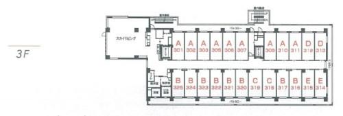 介護付有料老人ホーム 東急ウェリナケア尾山台(介護付有料老人ホーム)の画像(25)3階