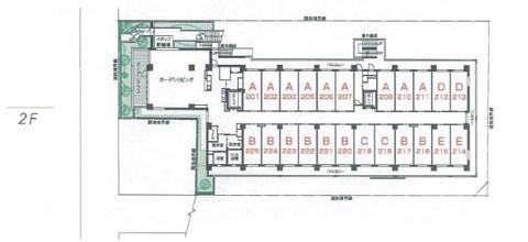 介護付有料老人ホーム 東急ウェリナケア尾山台(介護付有料老人ホーム)の画像(24)2階