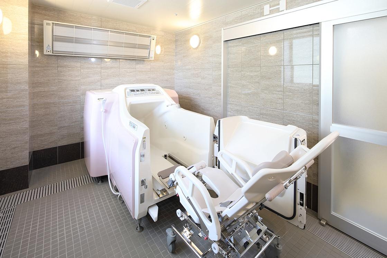 グランダ大山弐番館(介護付有料老人ホーム(一般型特定施設入居者生活介護))の画像(9)機械浴室