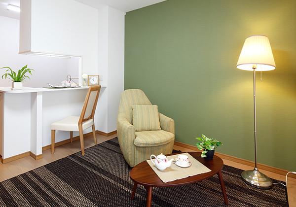 アイリスガーデン昭島 昭和の森(サービス付き高齢者向け住宅)の画像(8)居室(モデルルーム)