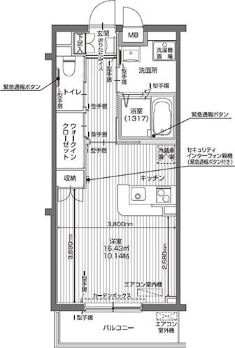 アイリスガーデン昭島 昭和の森(サービス付き高齢者向け住宅)の画像(25)