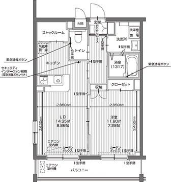 アイリスガーデン昭島 昭和の森(サービス付き高齢者向け住宅)の画像(28)