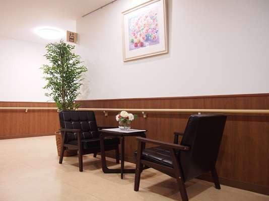 みんなの家・与野公園(介護付有料老人ホーム)の画像(6)1階ロビーです。
