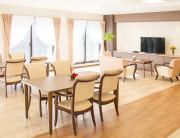 リアンレーヴ流山(サービス付き高齢者向け住宅)の画像(12)2・3階食堂