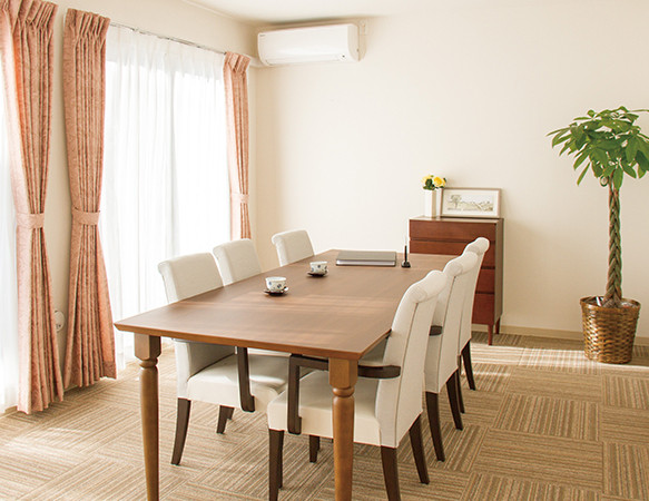 リアンレーヴ流山(サービス付き高齢者向け住宅)の画像(9)相談室