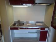 メックテラスたまプラーザ(サービス付き高齢者向け住宅)の画像(13)車いす対応のキッチン