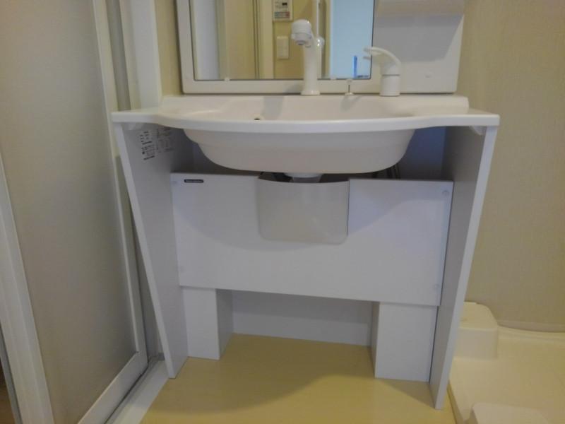 メックテラスたまプラーザ(サービス付き高齢者向け住宅)の画像(21)車いす対応の洗面台