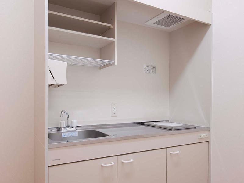 ケアリビング(サービス付き高齢者向け住宅)の画像(5)共用キッチン