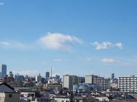 すこや家・西尾久(介護付有料老人ホーム)の画像(2)景色
