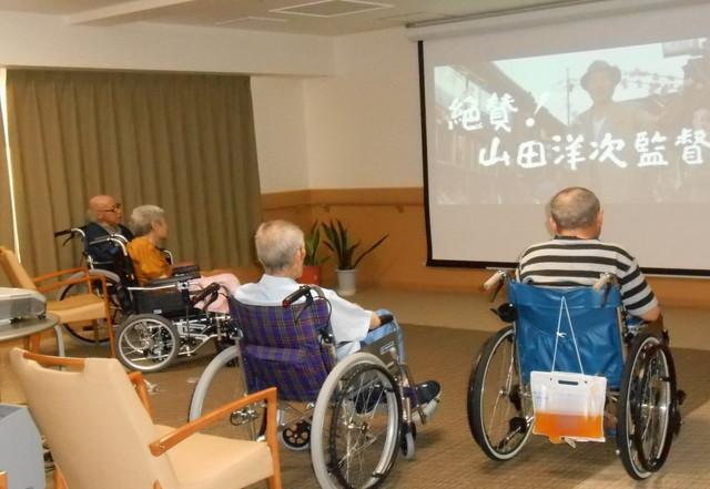 ようせいメディカルコート(サービス付き高齢者向け住宅)の画像(17)映画鑑賞