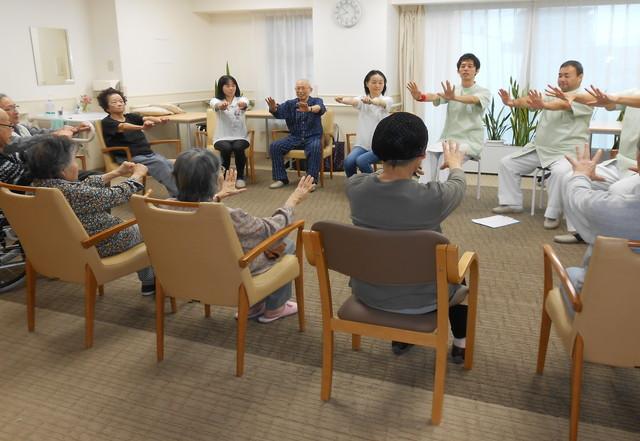 ようせいメディカルコート(サービス付き高齢者向け住宅)の画像(13)体操