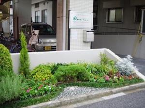 ヨウコーフォレスト竹の塚(介護付有料老人ホーム)の画像(4)庭園