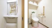 グレイプスガーデン西新井大師(サービス付き高齢者向け住宅)の画像(14)居室 洗面台/トイレ