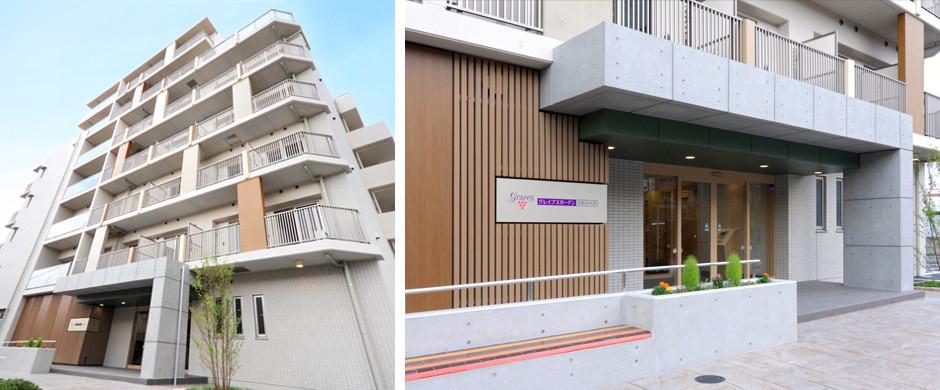 グレイプスガーデン西新井大師(サービス付き高齢者向け住宅)の画像(18)外観
