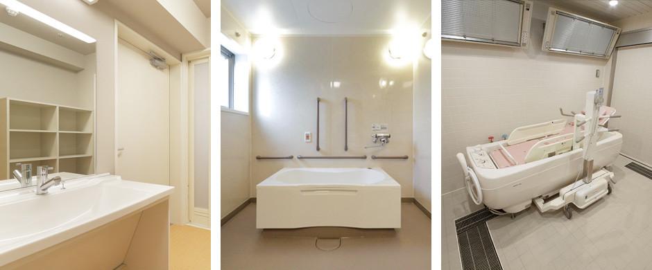 グレイプスガーデン西新井大師(サービス付き高齢者向け住宅)の画像(16)個別浴槽/機械浴槽