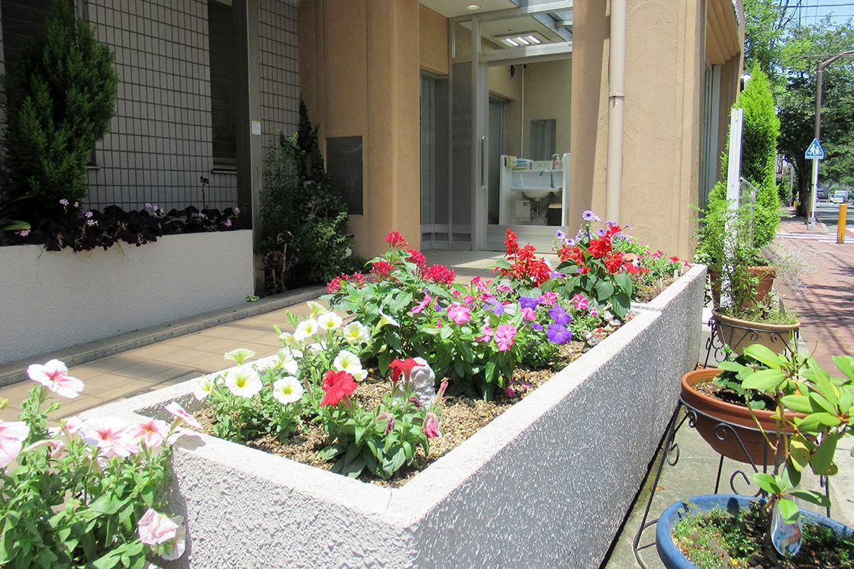 ボンセジュール四つ木(介護付有料老人ホーム(一般型特定施設入居者生活介護))の画像(9)玄関外側