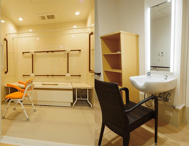 リアンレーヴ草加(介護付有料老人ホーム)の画像(23)個別浴槽