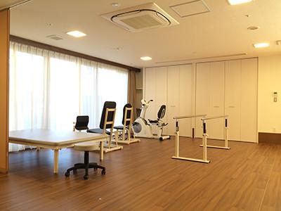 ライブラリMum草加(サービス付き高齢者向け住宅(一般型特定施設入居者生活介護))の画像(8)リハビリ機器