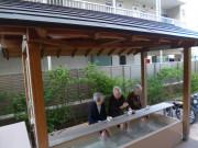 えど川明生苑(介護付有料老人ホーム)の画像(5)足湯の風景