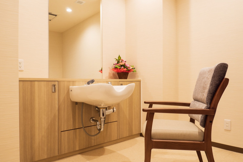 リアンレーヴふじみ野(住宅型有料老人ホーム)の画像(27)理美容室