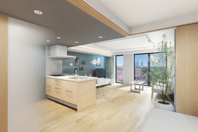 グランジュール尾山台(サービス付き高齢者向け住宅)の画像(8)居室 キッチン