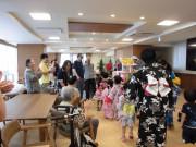 グレイプス川崎新町(サービス付き高齢者向け住宅)の画像(6)園児との交流