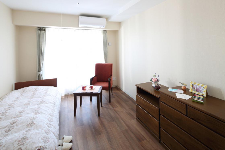 メディカルホームグランダ武蔵新城(住宅型有料老人ホーム)の画像(2)居室イメージ