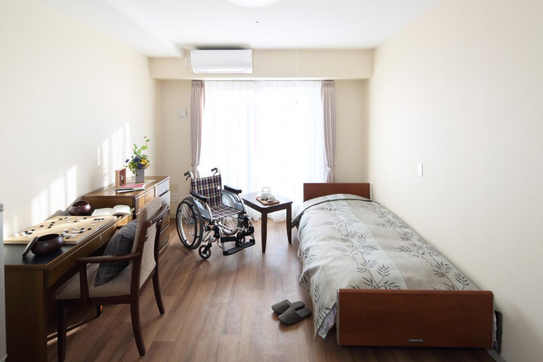 メディカルホームグランダ武蔵新城(住宅型有料老人ホーム)の画像(3)居室イメージ