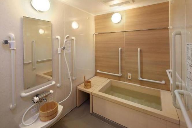 メディカルホームグランダ武蔵新城(住宅型有料老人ホーム)の画像(7)1F 浴室