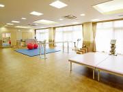 グッドタイムホーム・生田(介護付有料老人ホーム)の画像(8)広いリハビリ室