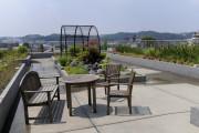 メディカルホームボンセジュール中野島(介護付有料老人ホーム(一般型特定施設入居者生活介護))の画像(9)屋上