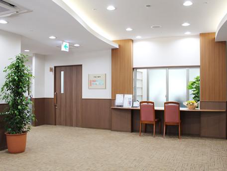 グッドタイムナーシングホーム・中野島(介護付有料老人ホーム(一般型特定施設入居者生活介護))の画像(8)事務所(受付)