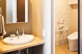 カーサプラチナ宮前平(住宅型有料老人ホーム)の画像(5)お手洗い