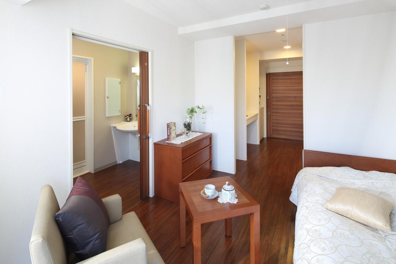 グランダ南麻布(介護付有料老人ホーム(一般型特定施設入居者生活介護))の画像(3)5F 居室イメージ