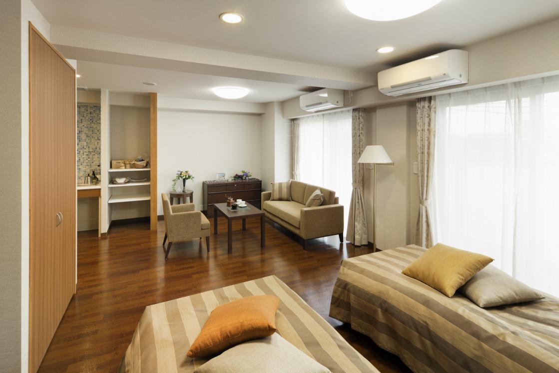 アリア高輪(介護付有料老人ホーム(一般型特定施設入居者生活介護))の画像(3)居室イメージ