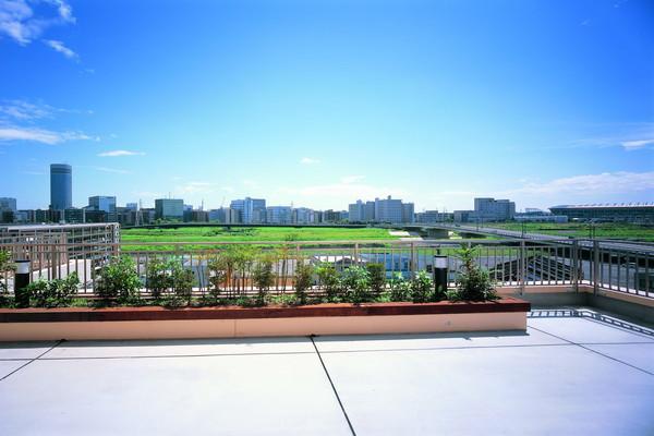 せらび新横浜(介護付有料老人ホーム)の画像(9)屋上