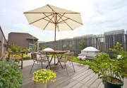 クラシックガーデン文京根津(介護付有料老人ホーム)の画像(4)屋上庭園