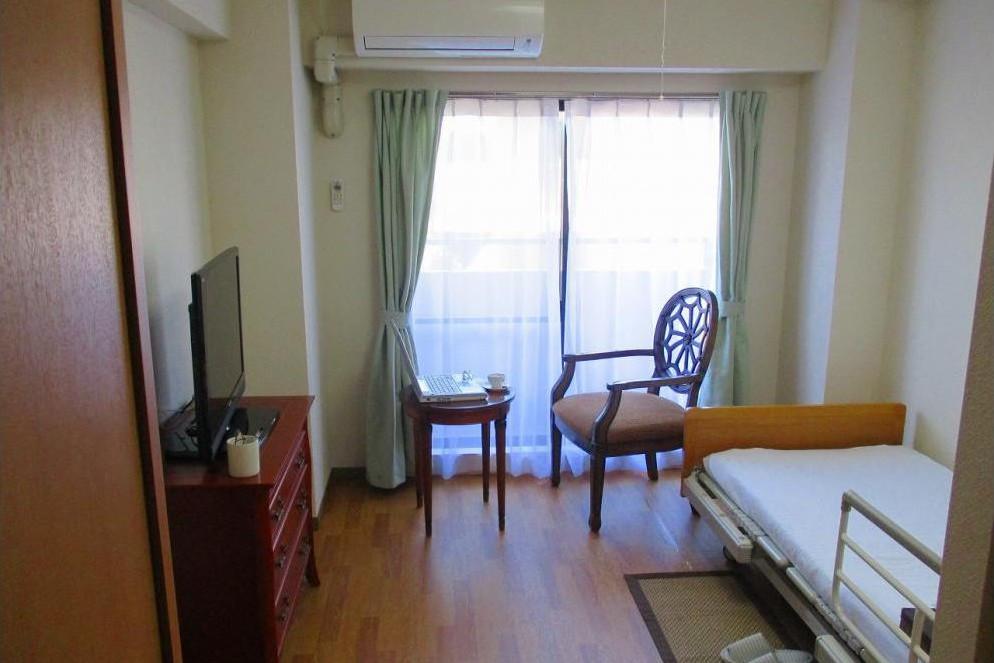 メディカルホームくらら青葉台(介護付有料老人ホーム(一般型特定施設入居者生活介護))の画像(2)居室イメージ