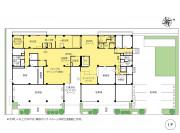 ニチイホーム仲町台(介護付有料老人ホーム(一般型特定施設入居者生活介護))の画像(11)1階の間取り図