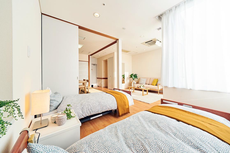 グランダ葉山(介護付有料老人ホーム(一般型特定施設入居者生活介護))の画像(2)2F 居室イメージ