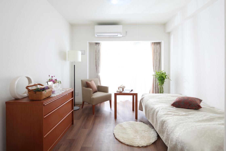 グランダ目黒(介護付有料老人ホーム(一般型特定施設入居者生活介護))の画像(2)居室イメージ