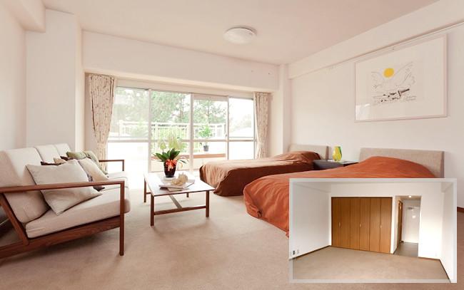 茅ケ崎太陽の郷(住宅型有料老人ホーム)の画像(2)居室1
