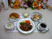 ベストライフ吉祥寺Ⅱ(住宅型有料老人ホーム)の画像(8)お食事(洋食9