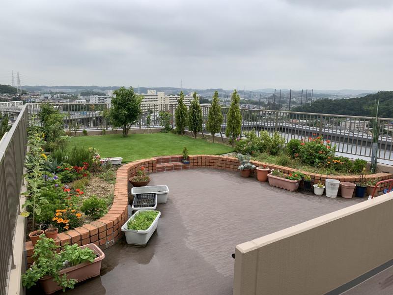 クラシック・コミュニティ横浜(サービス付き高齢者向け住宅)の画像(11)解放された庭園です