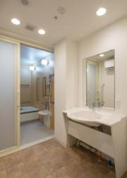 メディカルケアセンチュリーハウス藤沢(住宅型有料老人ホーム)の画像(8)浴室