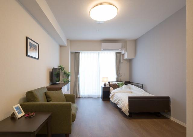 メディカルケアセンチュリーハウス藤沢(住宅型有料老人ホーム)の画像(9)居室