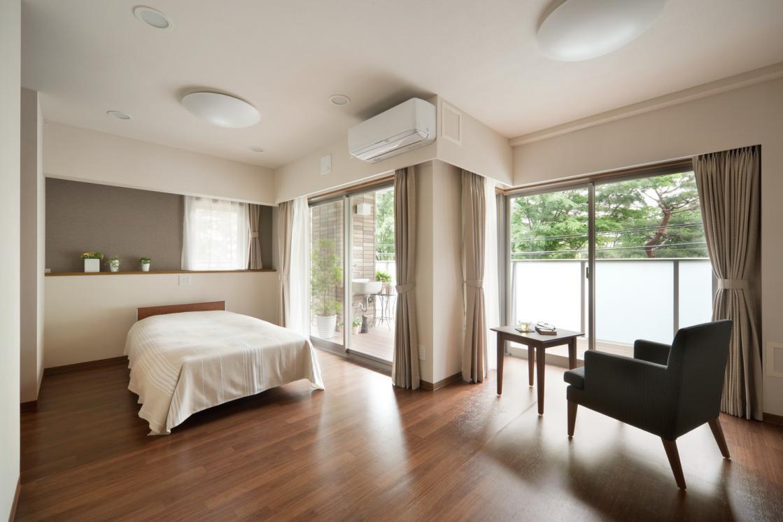 芦花翠風邸(介護付有料老人ホーム(一般型特定施設入居者生活介護))の画像(2)居室イメージ