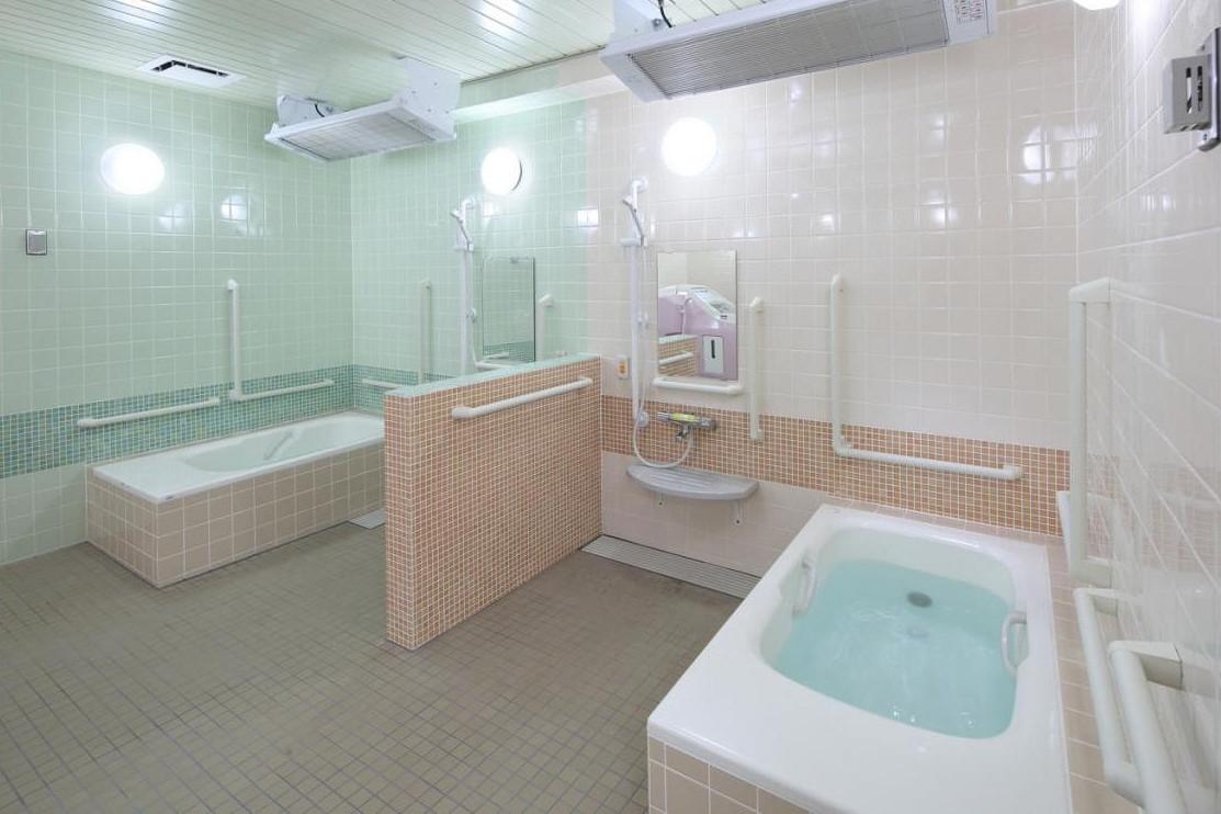 ここち平塚弐番館(介護付有料老人ホーム(一般型特定施設入居者生活介護))の画像(8)1F 浴室